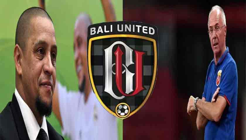 Roberto Carlos dan Sven-Goran Eriksson Tertarik Melatih Bali United