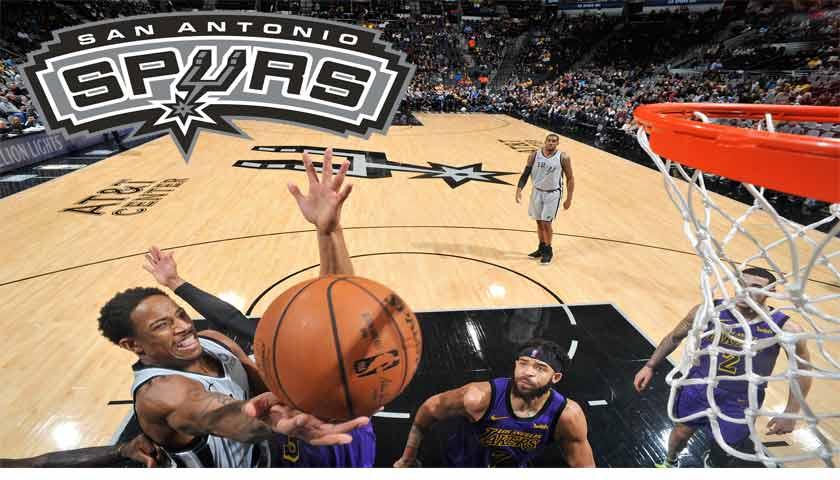 Lakers Tumbang di Markas San Antonio Spurs