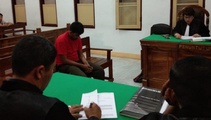 Terdakwa Perantara Pengedar 1 Kg Sabu Dituntut 14 Tahun Penjara