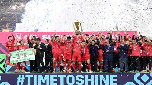 Timnas Vietnam Juarai Piala AFF 2018 di Rumah Sendiri