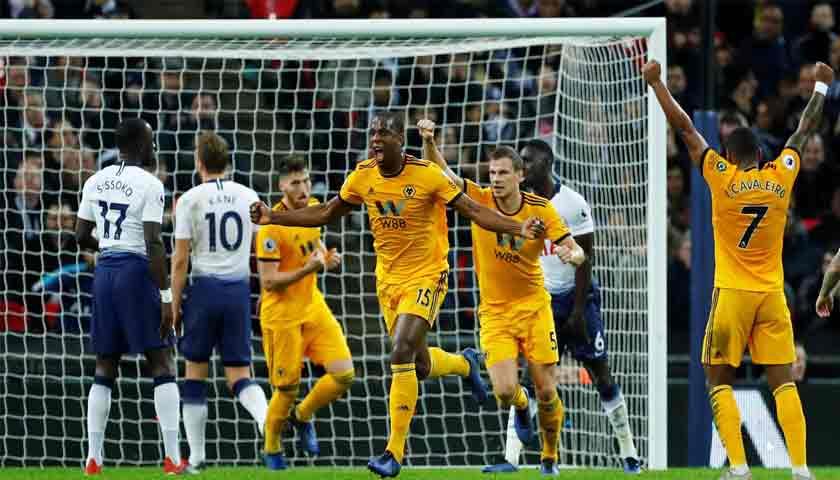 Mengejutkan! Tottenham Hotspur Dipecundangi Wolverhampton 1-3