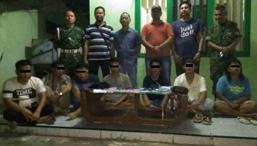 Di Langkat, 7 Kawanan Jaringan Narkotika 'Gol', 1 Pegawai Lapas