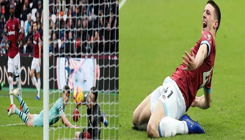 Arsenal Takluk di Markas West Ham United 0-1