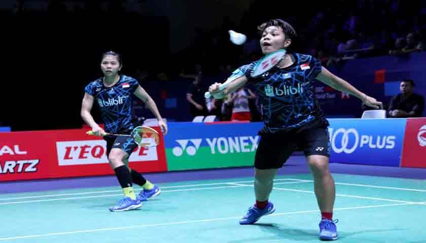 Ganda Putri Indonesia Greysia/Apriyani ke Final Malaysia Masters 2019