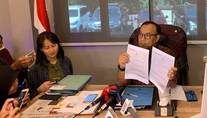 Tak Geruduk Rumah Andi Arief, Polisi Tangkap Penyebar Hoax Surat Suara