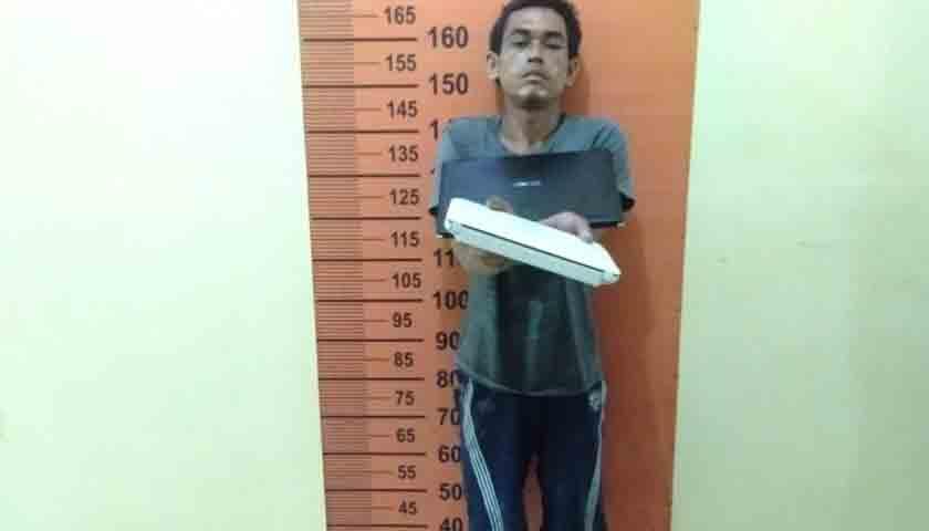 Jual Laptop Curian, Warga Pancurbatu 'Nginap' di Sel, Terancam 7 Tahun Penjara