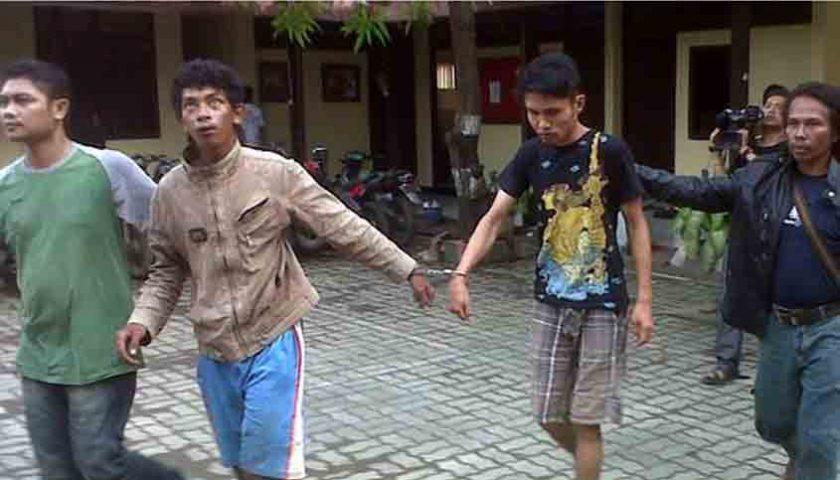 Dicongkel Tusuk Gigi, 4 Komplotan Pembobol ATM, Terkapar Dipelor Polisi