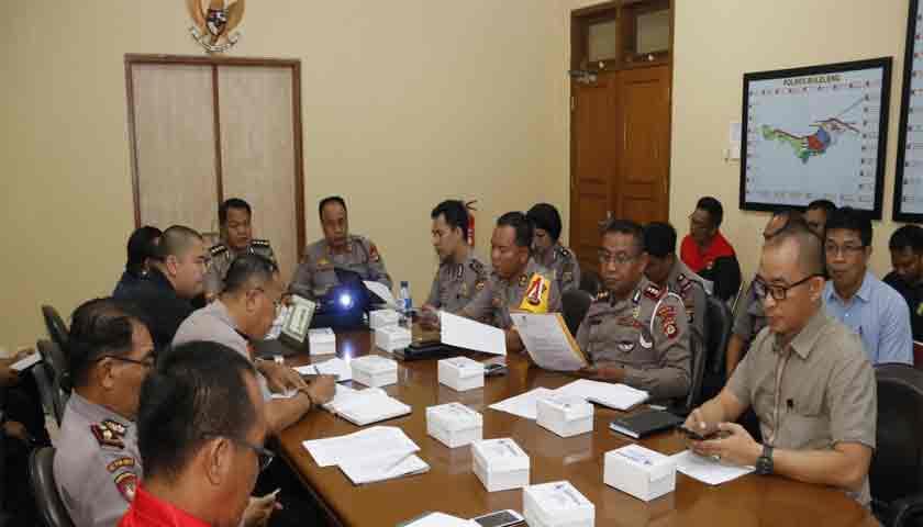 220 Personel Polda Bali Siap Amankan Kongres Tahunan PSSI 2019