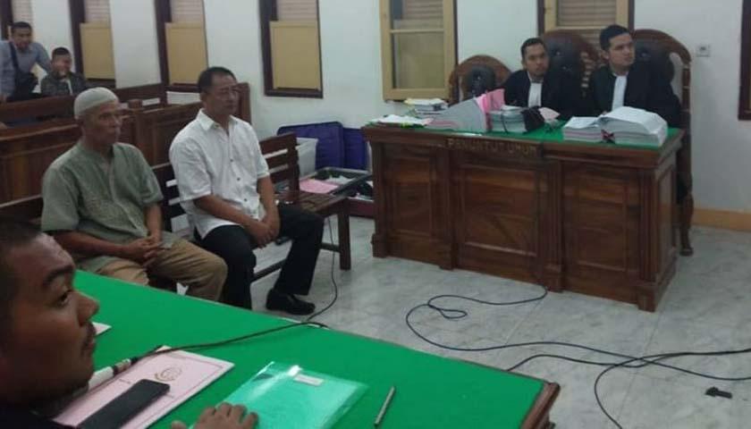 Korupsi Pemasangan LPJU, PPK Labuhanbatu dan Rekanan Didakwa Rugikan Negara Rp579 Juta