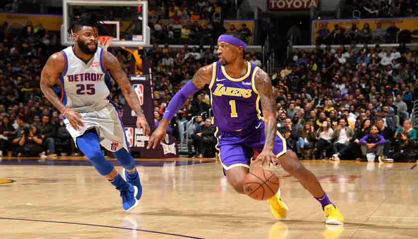 NBA 2018-2019, LA Lakers Tundukkan Pistons 113-100