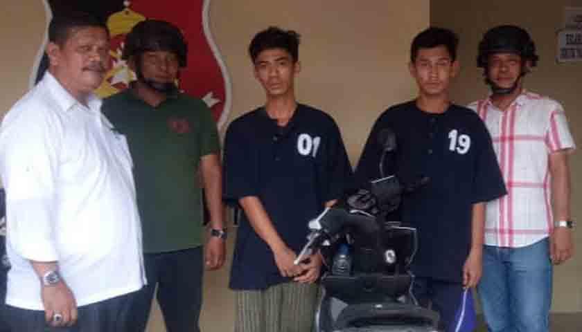 Hebat Juga..!!! Pelaku Jambret Diciduk di Hotel, Terancam 12 Tahun Penjara