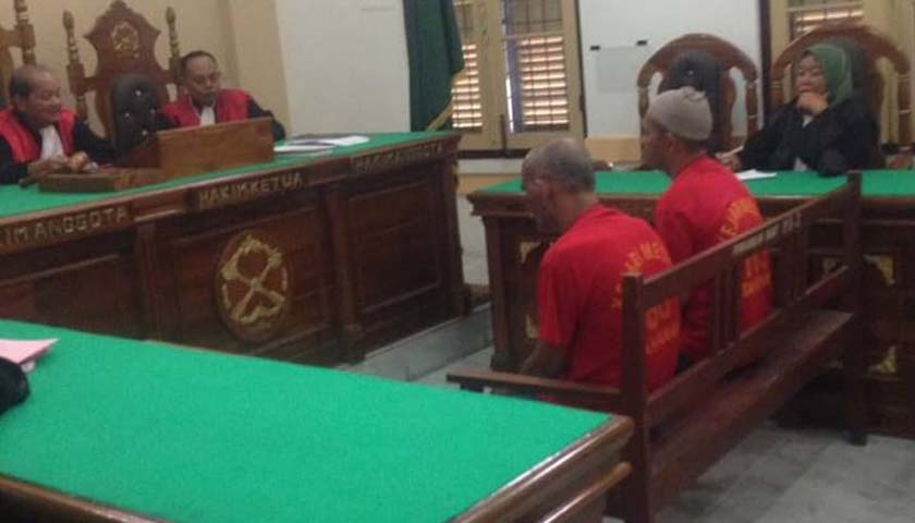 Kasus Sabu, 2 Nelayan Batubara Diadili di PN Medan