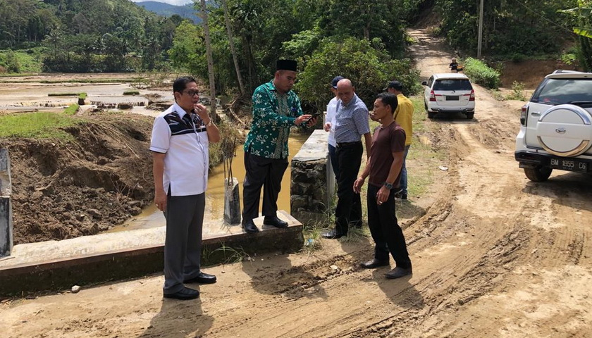 Pascabanjir Bandang, Perpamsi Sumut dan Tirtanadi Bantu PDAM Tirta Nciho