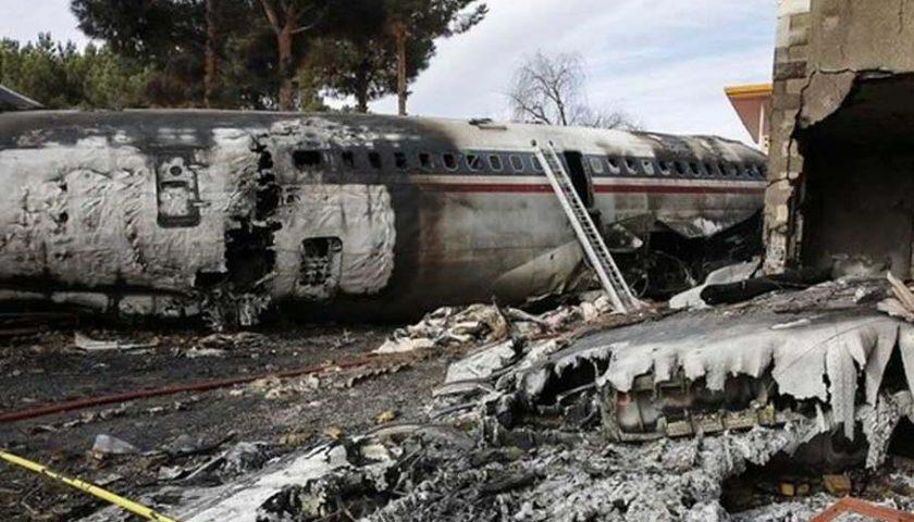 Pesawat Militer Iran Jatuh, 15 Tewas