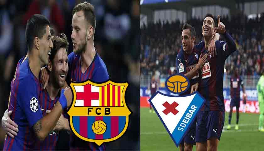 Prediksi Liga Spanyol Barcelona vs Eibar 14 Januari 2019