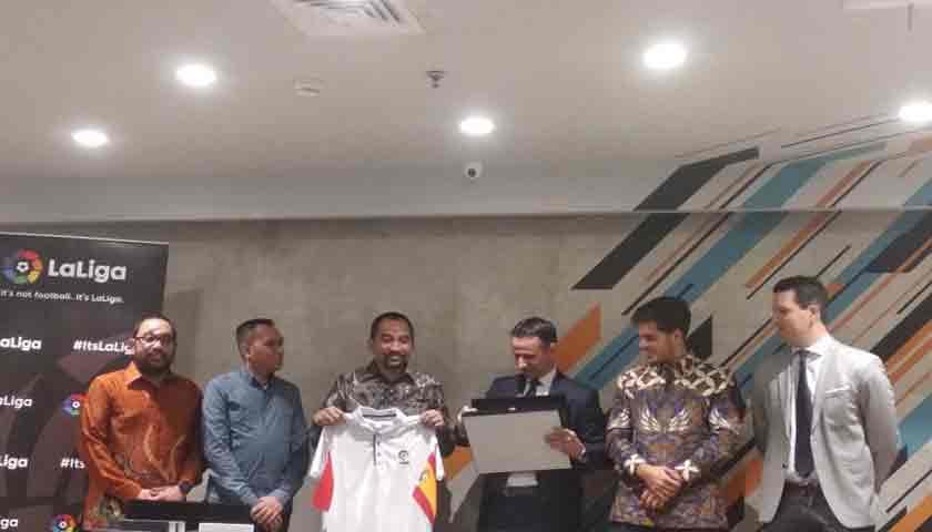 PT LIB dan La Liga Kerja Sama Berantas Match Fixing di Sepakbola Indonesia