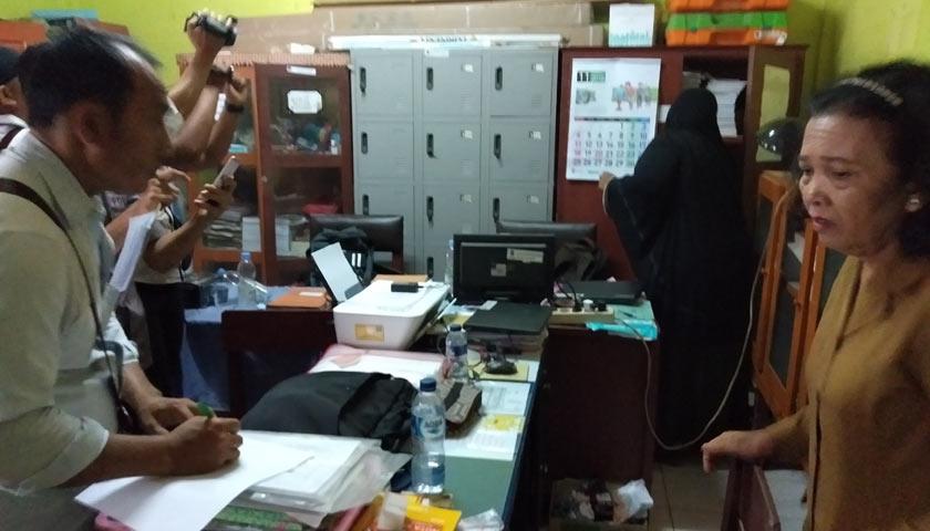 Ruangan Kepsek SD Dibobol Maling, Dua Laptop dan TV Raib