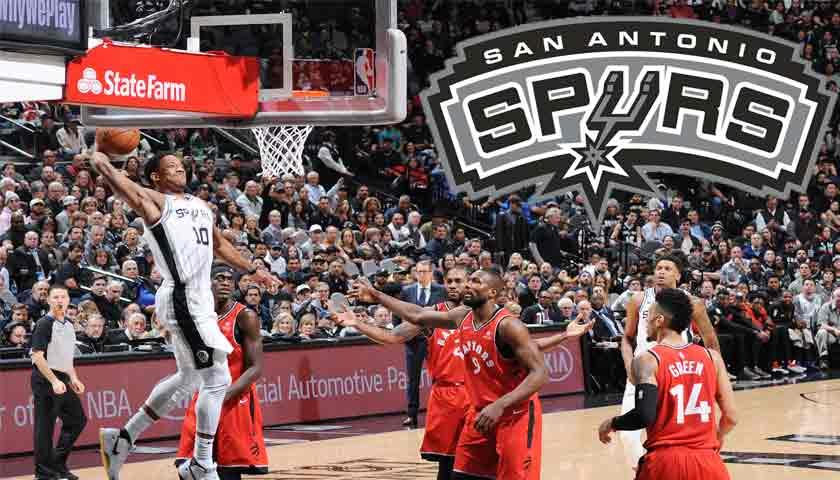 San Antonio Spurs Hajar Raptors 125-107