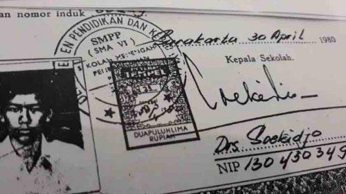 Sebar Berita Bohong Ijazah Jokowi Palsu, Kholid Harahap 'Gol'