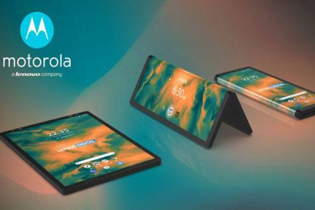 Smartphone Layar Lipat Motorola Muncul dalam Gambar Paten