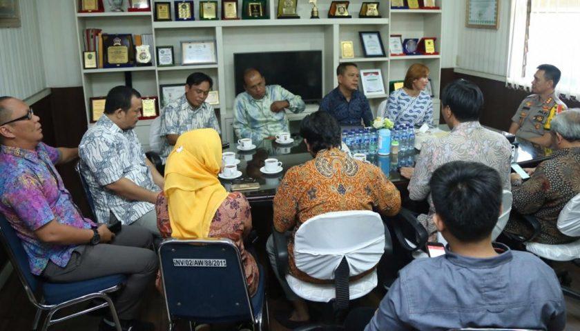 SMSI Sumut Audiensi ke Mapolrestabes Medan