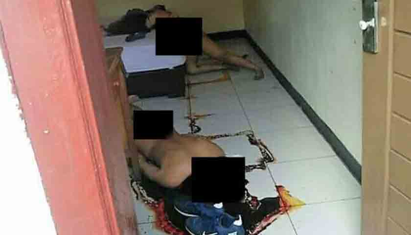 Doorr..Dooor..!!! Usai Bunuh Pacar, Tembak Kepala Sendiri, Ditemukan Telanjang Bulat