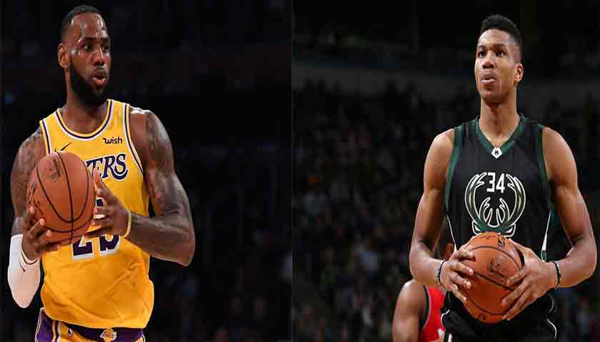 Voting NBA All-Star 2019: LeBron James dan Giannis Teratas
