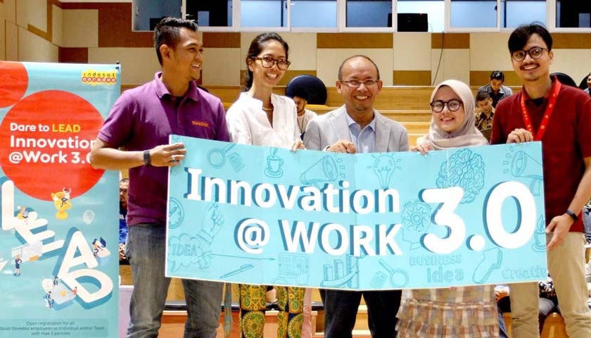 Wujudkan Budaya Inovasi di Tempat Kerja, Indosat Ooredoo Gelar Innovation@Work 3.0