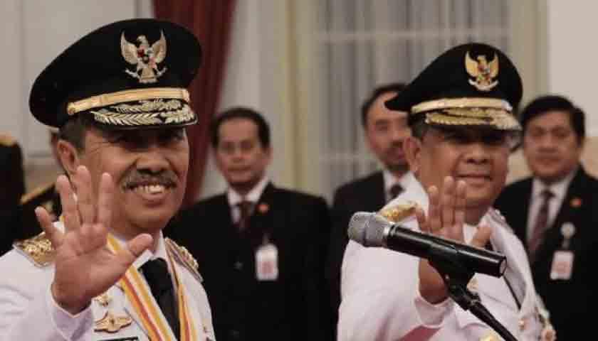 Pasangan Syamsuar-Edy Nasution Dilantik Jadi Gubernur dan Wakil Gubernur Riau