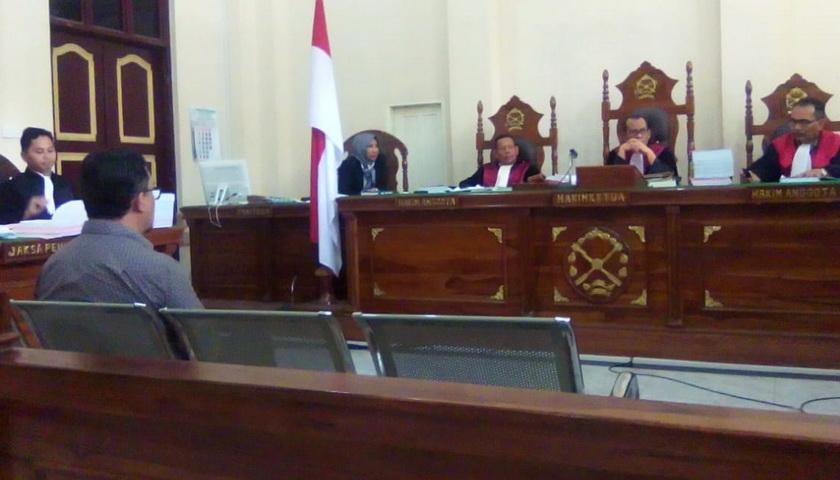Tak Punya Sertifikat Keahlian, Saksi Sidang IPA Martubung Ditolak