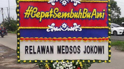 Netizen Kirim Bunga ke Rumah Dinas SBY