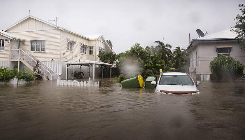 Australia Dilanda Banjir, Buaya dan Ular Serbu Permukiman
