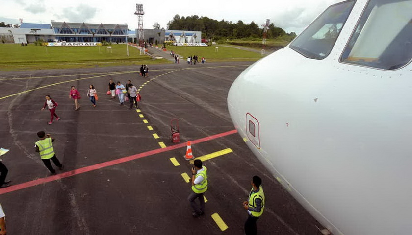 Garuda Layani Rute Jakarta-Silangit dengan Boeing