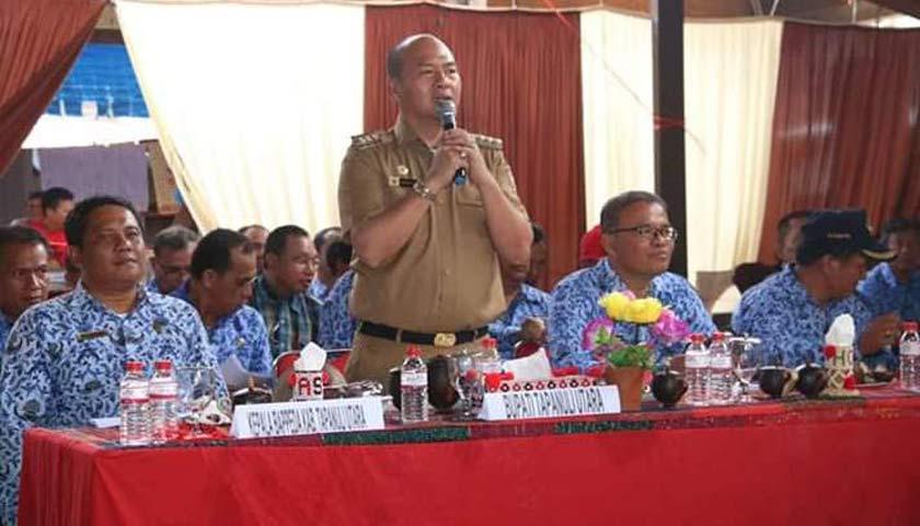 Usai Kunjungi SD Sarulla, Bupati Taput Pimpin Langsung Musrenbang Kecamatan Pahae Jae