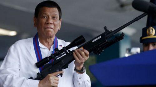 Heboh…, Duterte Usulkan Negara Filipina Ganti Nama