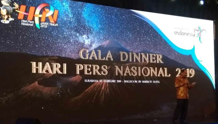 Gala Dinner HPN 2019, Kemenpar Optimis 2020 Pariwisata Jadi Penghasil Devisa Utama di Indonesia