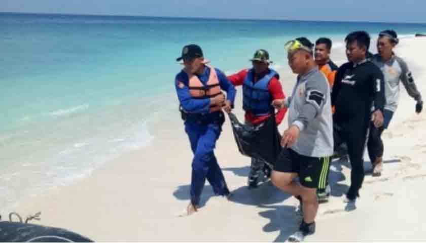 Jenazah Kapal Nelayan Meledak di Laut, Ditemukan Terlentang di Pantai