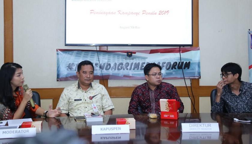 KMF Bahas Potensi Politik Uang di Pemilu 2019