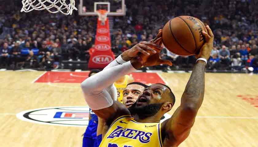 Usai Cedera, LeBron James Tampil Apik Bawa Lakers Bekuk Clippers