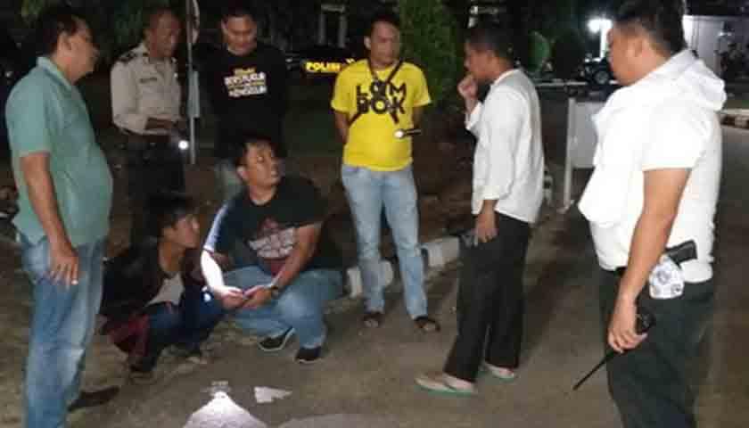 Pemeras Sopir Truk tak Berkutik Disergap Polisi