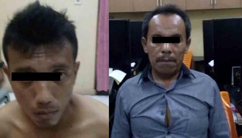 Dua Pengedar Sabu Pasrah Dijebloskan ke Sel