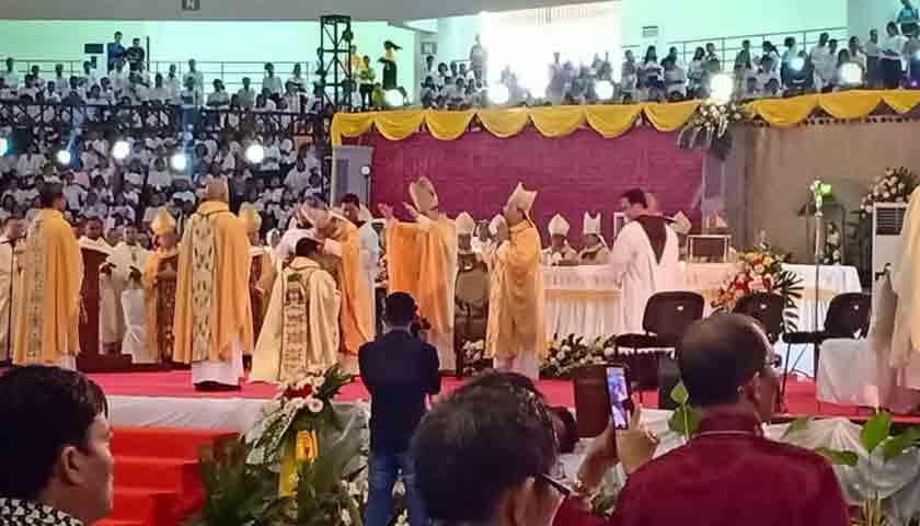 pentahbisan uskup agung medan