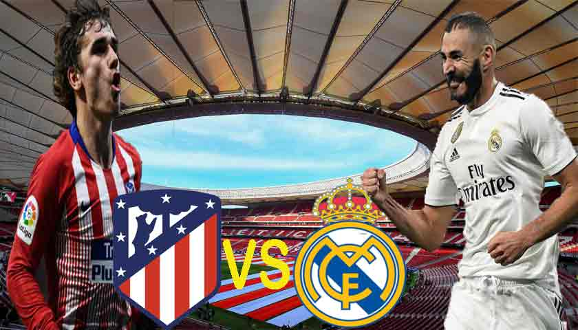 Prediksi Atletico Madrid vs Real Madrid 09 Februari 2019