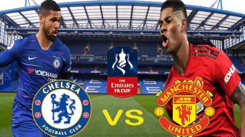 Prediksi Chelsea vs Manchester United Piala FA 19 Februari 2019