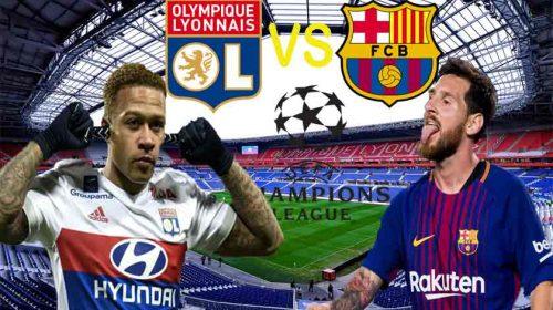 Prediksi Olympique Lyonnais vs Barcelona 20 Februari 2019