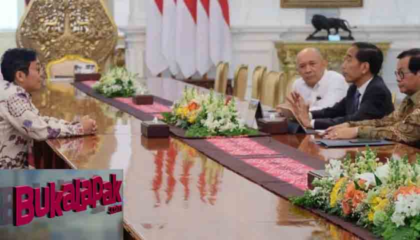 Mendadak, CEO Bukalapak Temui Jokowi di Istana
