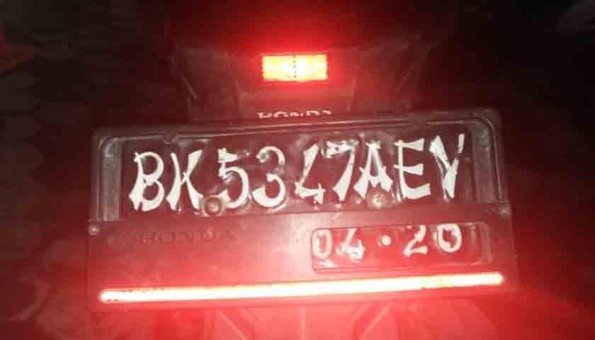 Sepedamotor Pencuri Diamankan, Pelakunya Kabur, Ada yang Kenal?