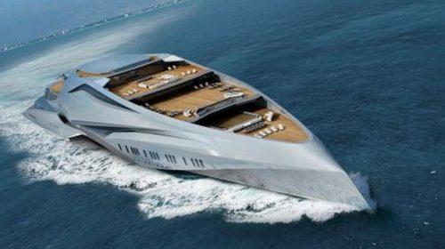 Yacht Terbesar di Dunia Desainnya Gila-gilaan
