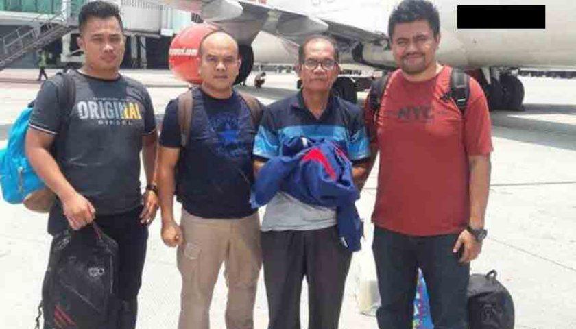 Sintong Gultom, Anggota DPRD Tapteng Dibekuk di Nunukan, Kalut