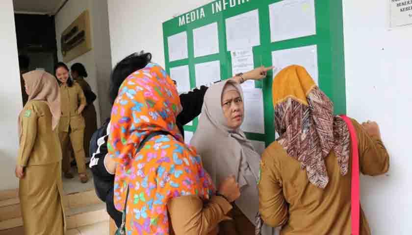 Ratusan ASN Pemko Medan Malas Apel Pagi, Identitasnya 'Dipamerkan'